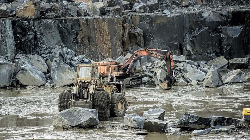 Добыча гранита в Карелии | Еврогранит | ЕВРОГРАНИТ